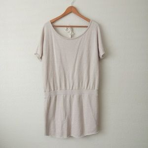 Victoria's Secret French Terry Tie Back Dress